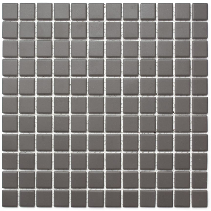 Mosaik Eventyr Lysene Kaffe 2,5x2,5, 498 kr. M2.