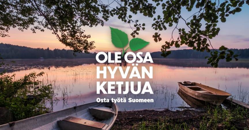 STL - Suomalaisen Työnliitto, Ole Osa Hyvän Ketjua kuvituskuva
