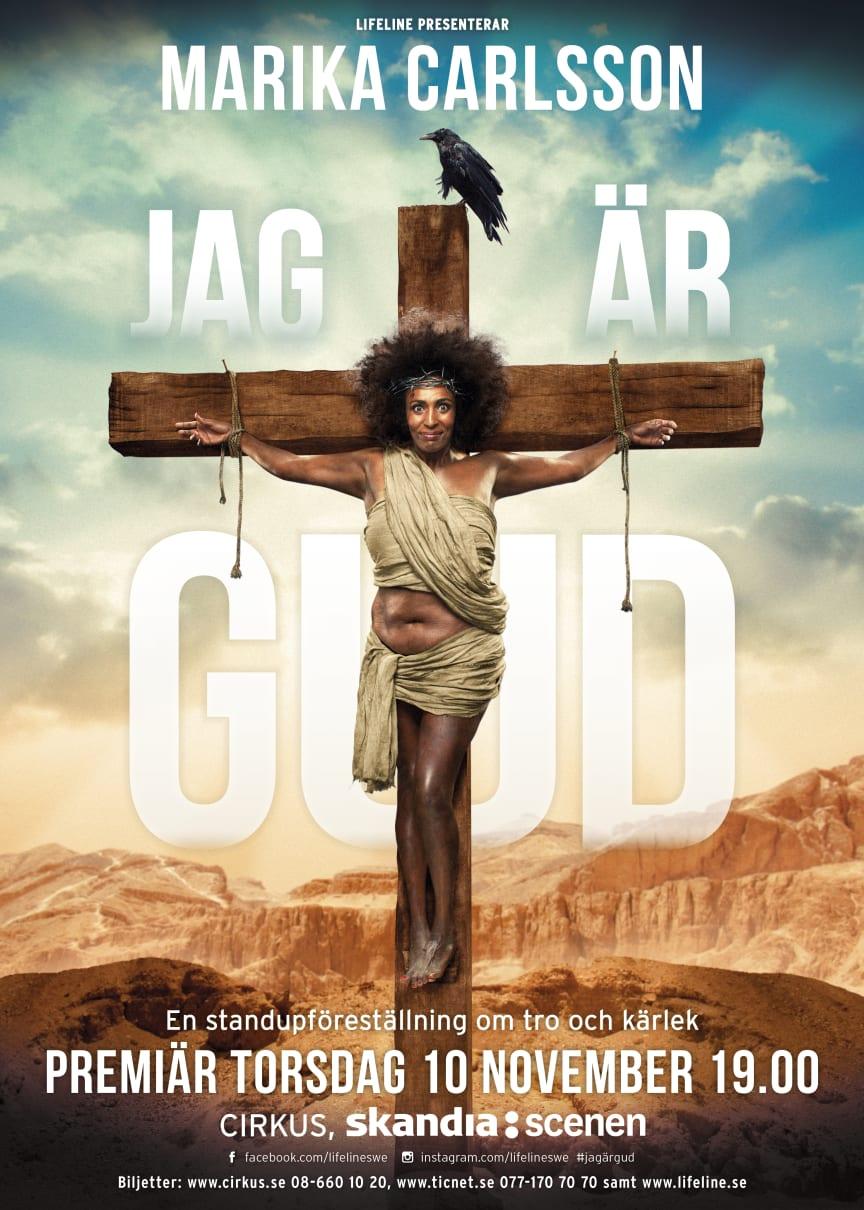 """Marika Carlsson - """"Jag är Gud"""""""