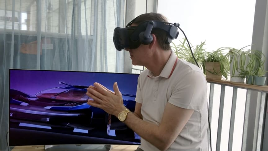 Fords virtuelle designstudie