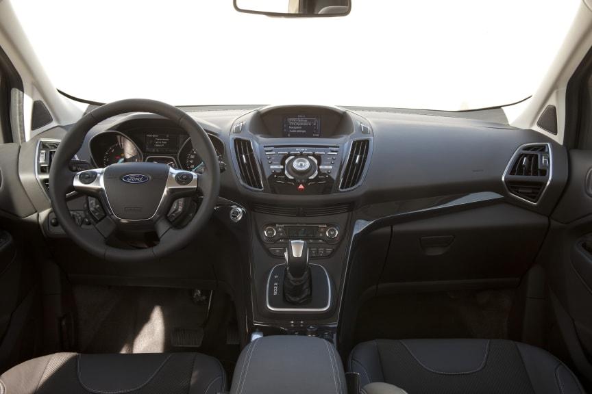 Nye Ford Kuga interiørbilde