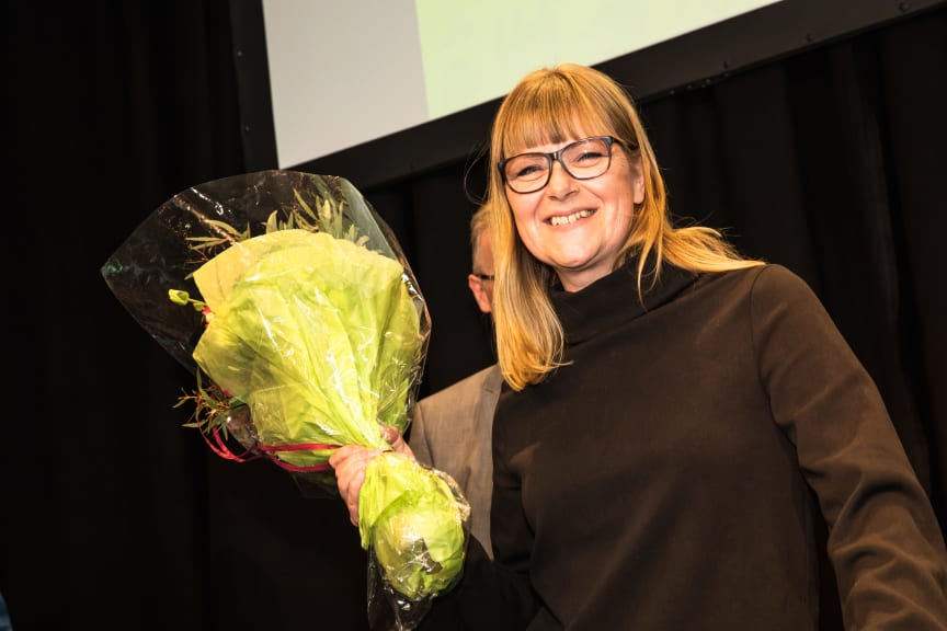 The winner of Nordbygg's Gold Medal in 2018, the founder and CEO of the company Operose, Johanna Söderström