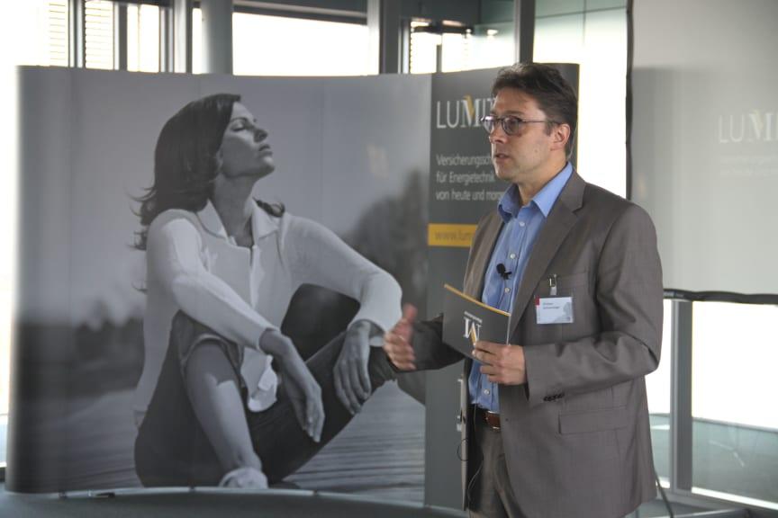LUMIT FACHTAG 2016 - Referent Christian Sachsenweger