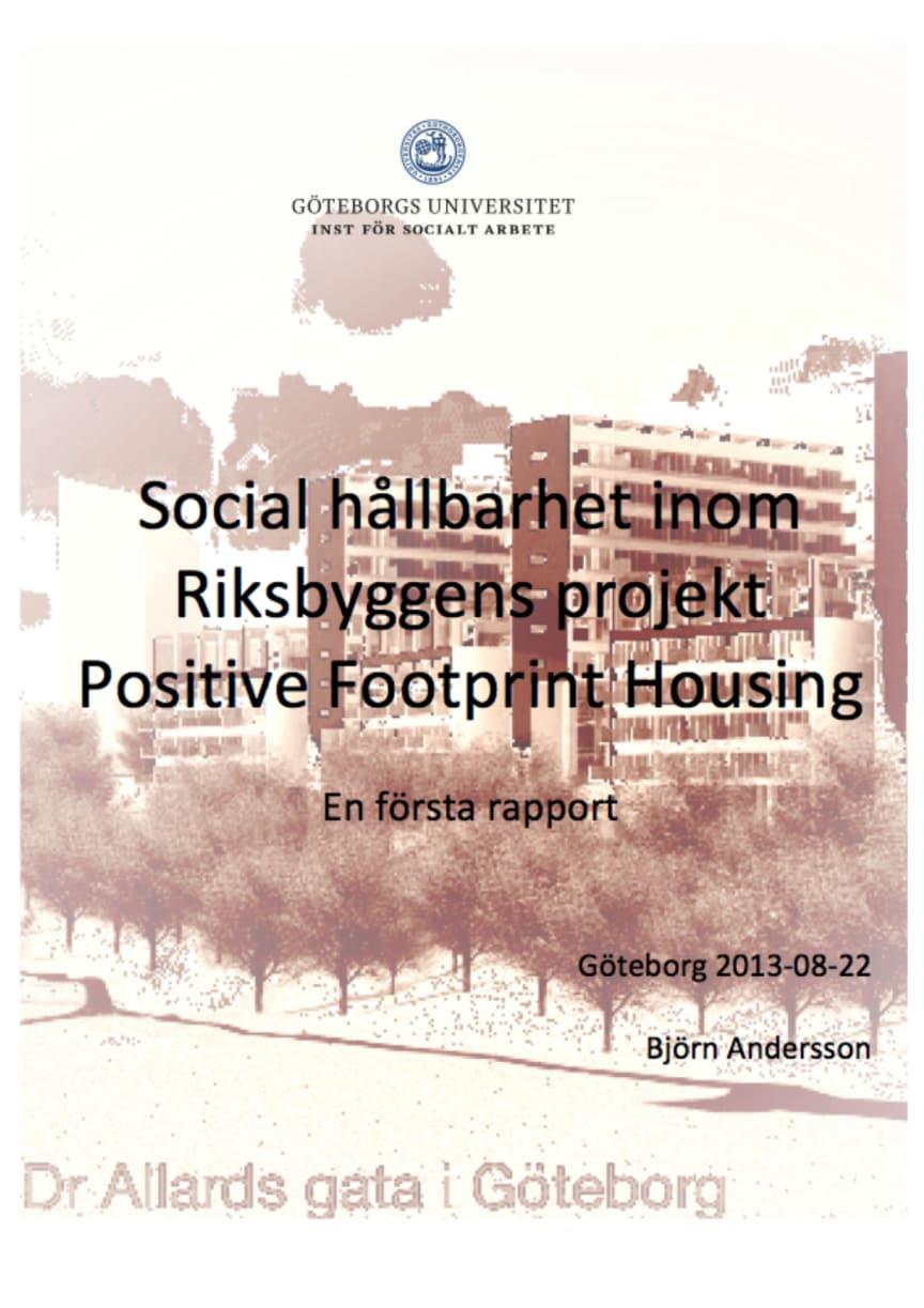 Rapport om PFH social hållbarhet