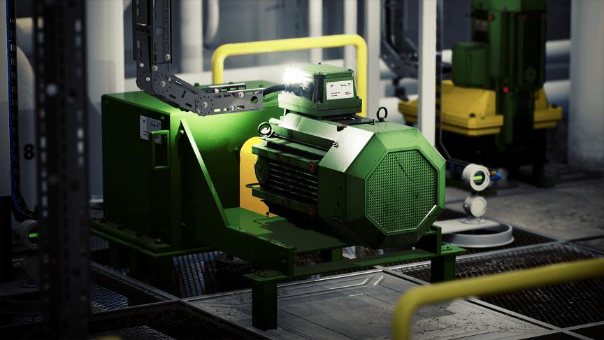 mekanisk utstyr med merkeskilt