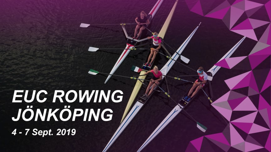 EUC Rowing Jönköping 2019