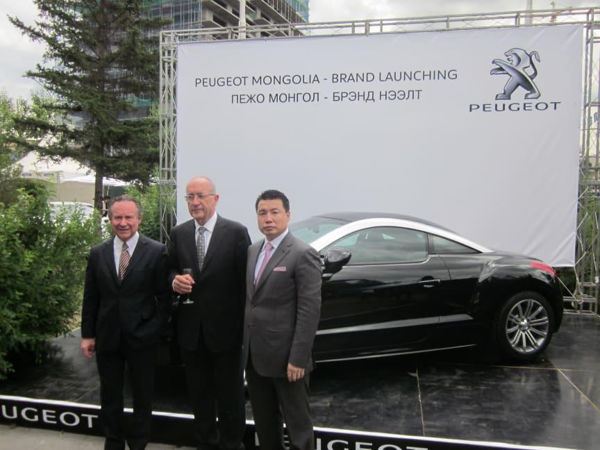 Premiär för Peugeot i Mongoliet