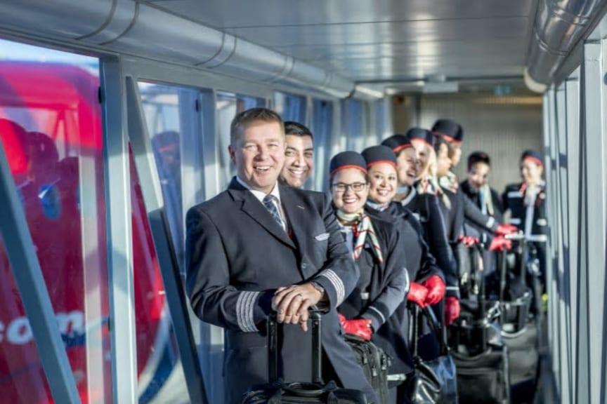 Norwegians Dreamliner-besetning