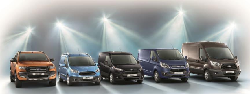 Hele Fords nyttekjøretøysortiment