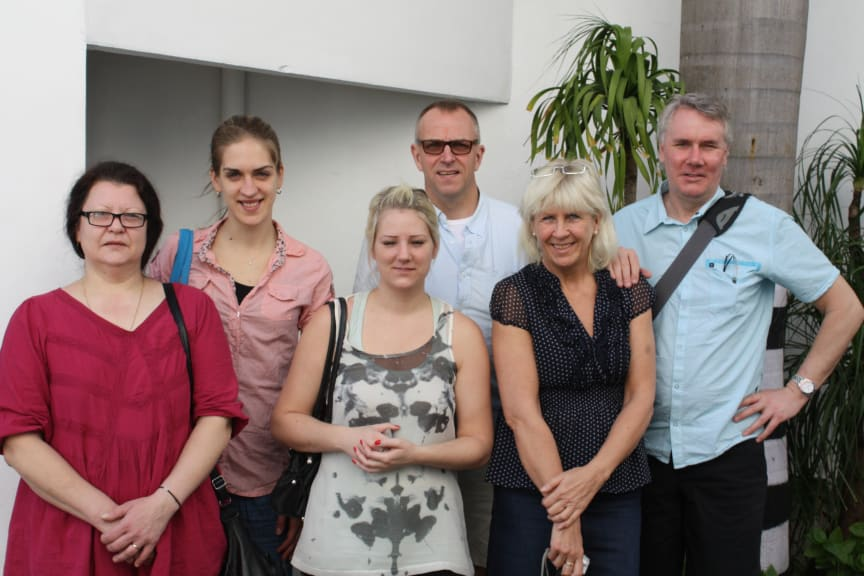 ISS Hand in hand stipendiater 2012