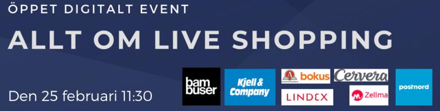 Introduktion till Live Shopping Event