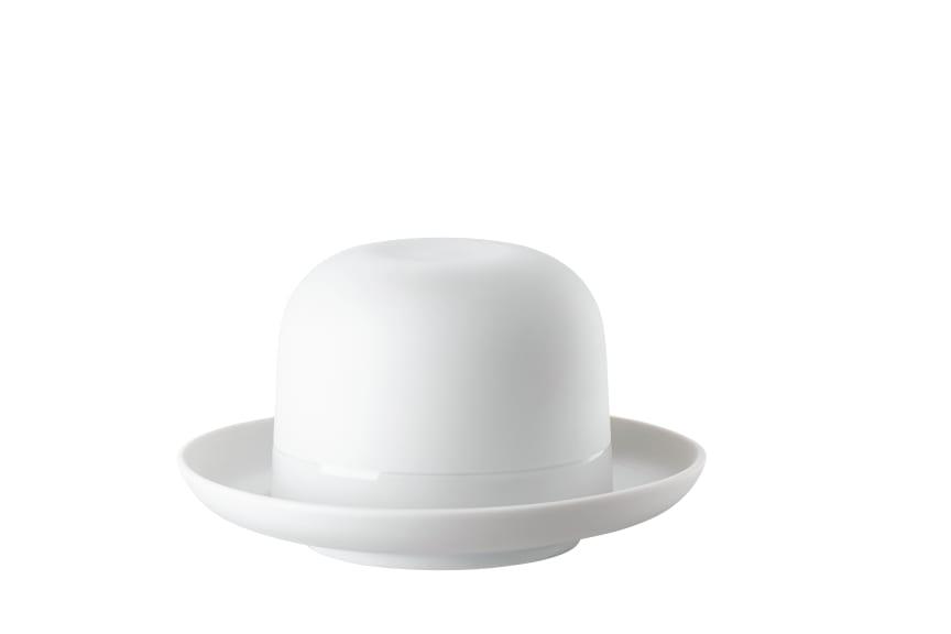 R_Cappello_White_Espresso_cup_and_saucer_Hat