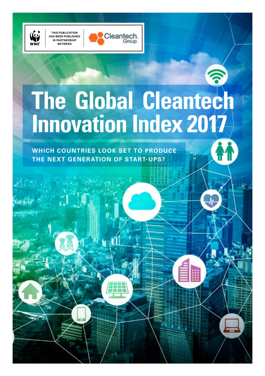 Global Cleantech Innovation Index 2017