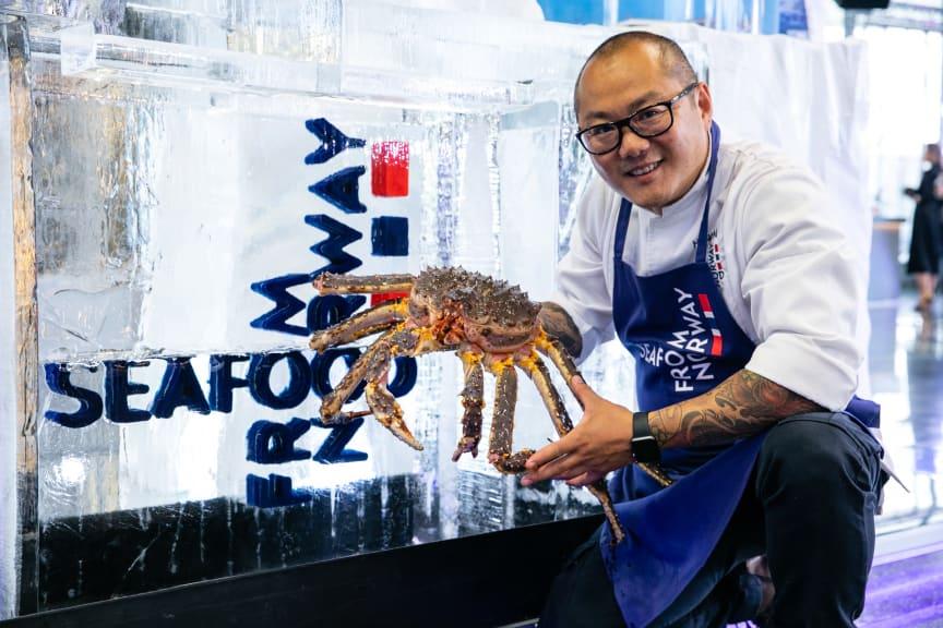 Kongekrabbe under World's 50 best restaurants