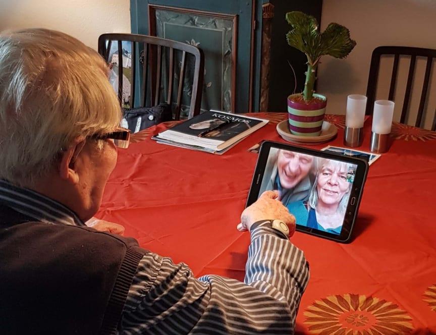 Verner og Lisbet 1_videokald