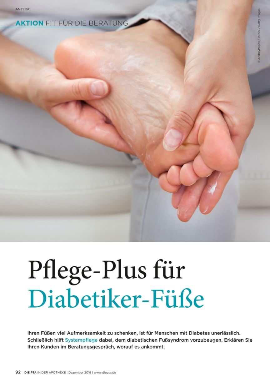 Pflege-Plus für Diabetiker- Füße