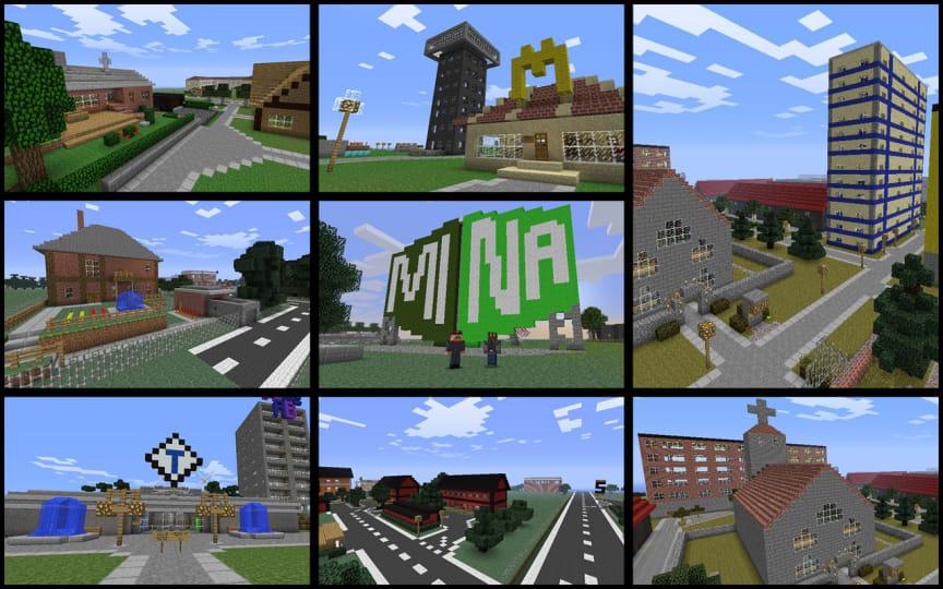 Mina Kvarter  - Minecraft