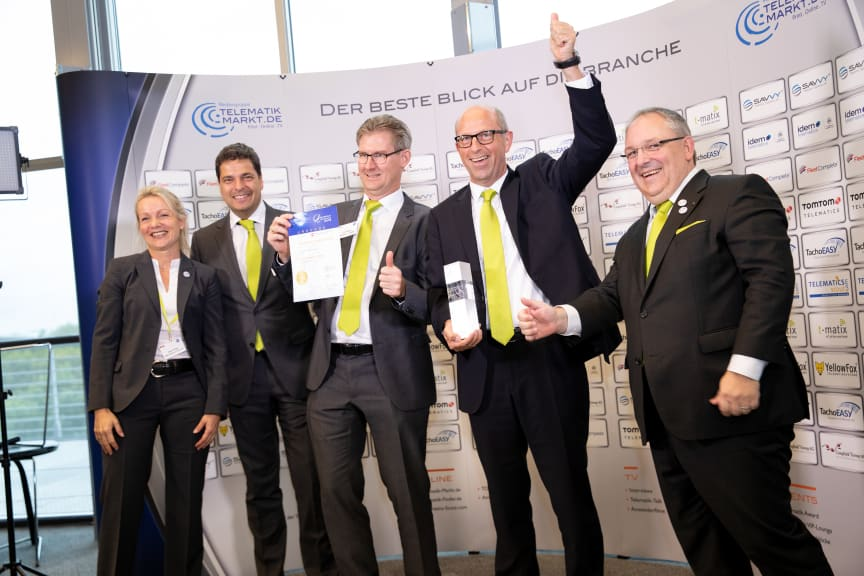 Preisverleihung Telematik-Award 2018 an idem telematics