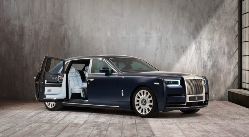 The Million Stitch Rolls-Royce Phantom