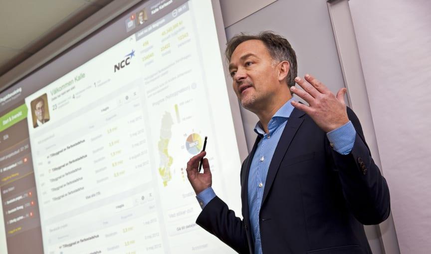 Tommy Börjesson, affärsområdeschef för Projektbevakning, Svensk Byggtjänst