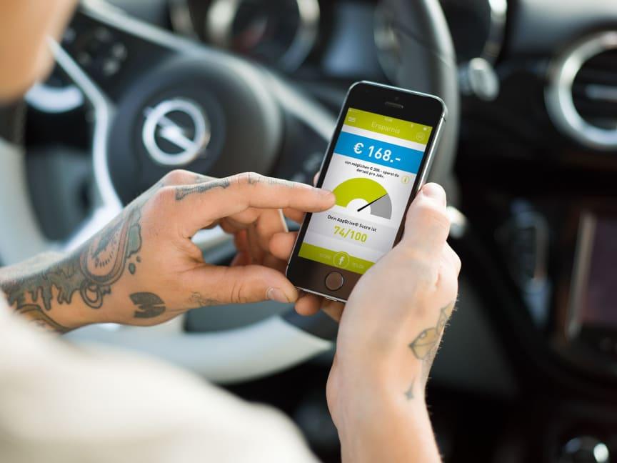 Leistungsstarke Kombination aus App und Versicherungslösung