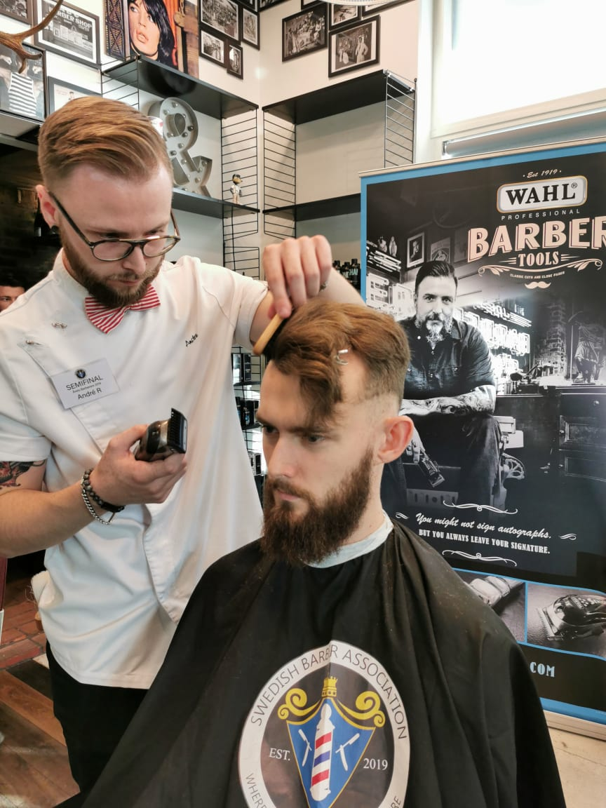 André Risell, The Barber, Helsingborg