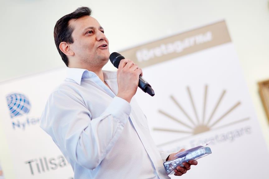 Michael Mokhberi, Årets företagare i Lund 2012