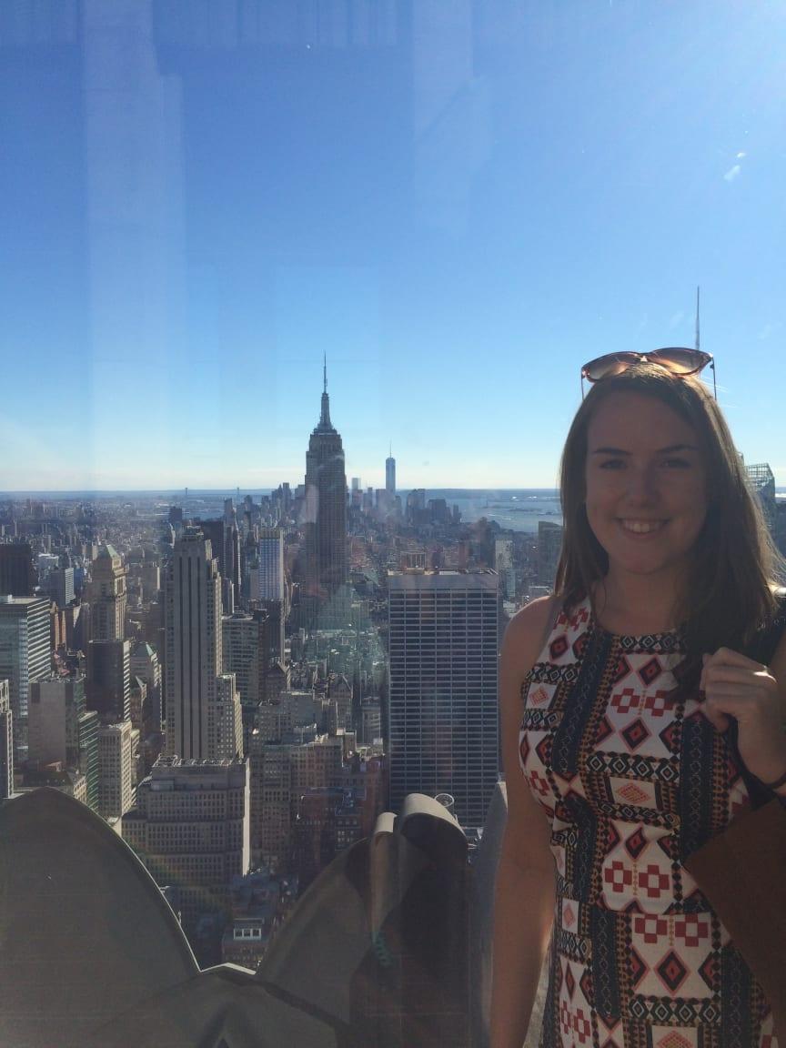 Fiona Wharram in New York