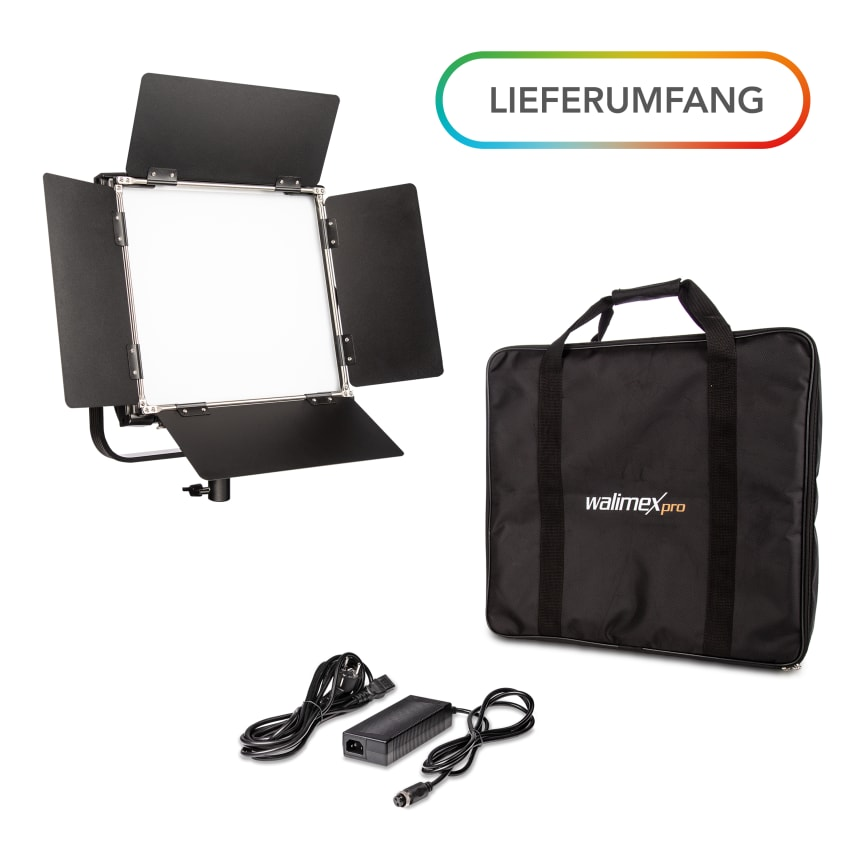 Walimex pro Rainbow RGBWW 50_100W 23034 23035 03 Lieferumfang