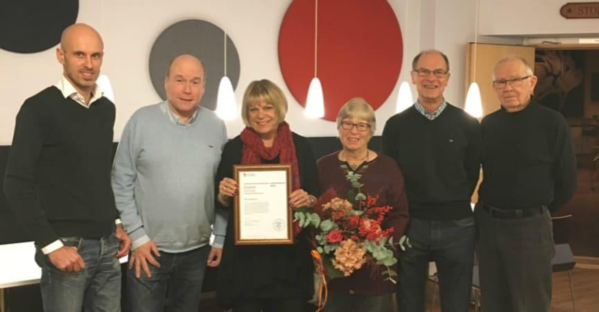 Brf Mölndalshus 3 får pris för bästa hållbarhetsförening i Göteborg