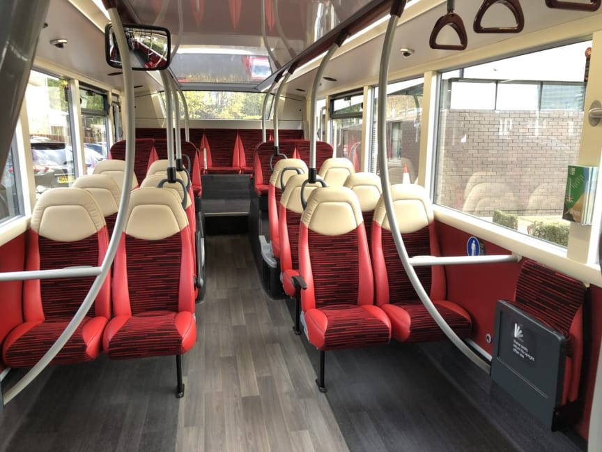 £720k investment from Go North East in state of the art environmentally friendly buses for its X30 route