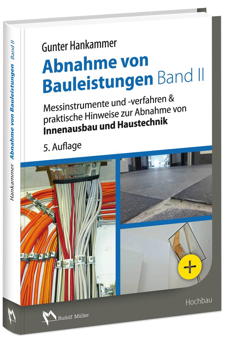 Abnahme von Bauleistungen - Band II, 5. Auflage (3D/tif)