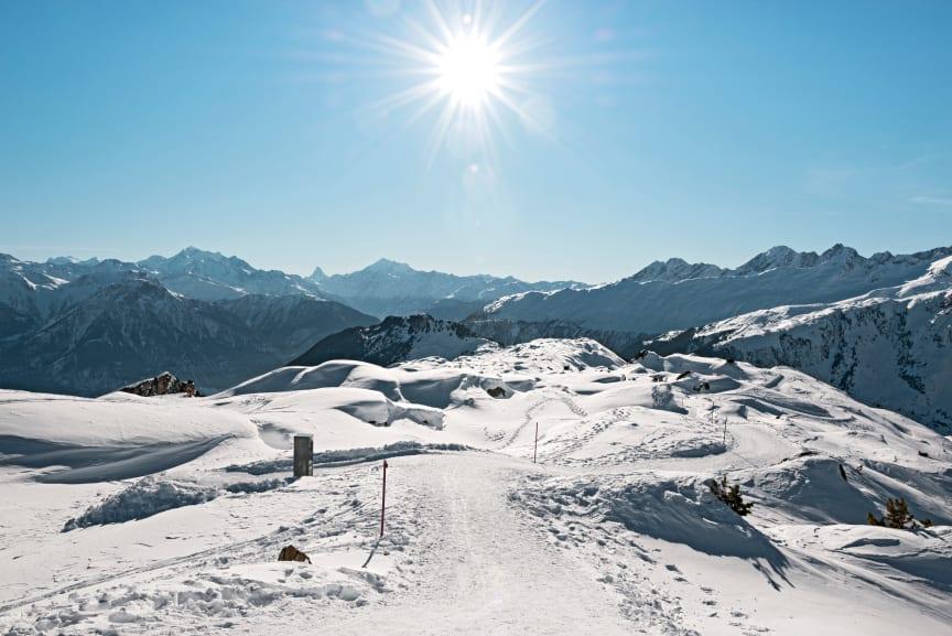 Winterwanderweg Aletsch Arena (Wallis)