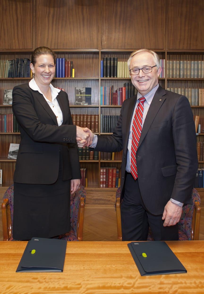 Håndtryk på 150 mio kr ESCO aftale over de næste 5 år