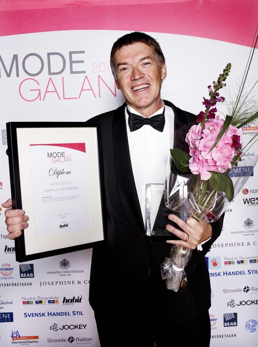 Vinnare Årets Skobutik, Modegalan 2011