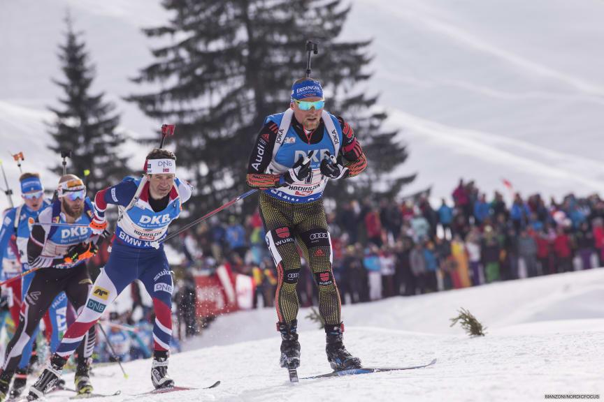 Ole Einar stafett VM Hochfilzen