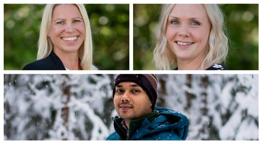 QureTech Bio, Annica Rönnbäck, Mari Bonde and Souvik Sarkar.