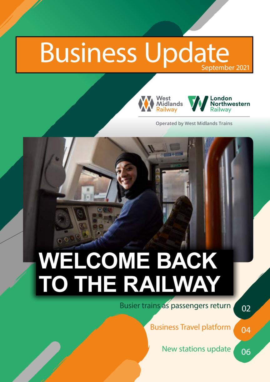 West Midlands Trains Business Update - September 2021