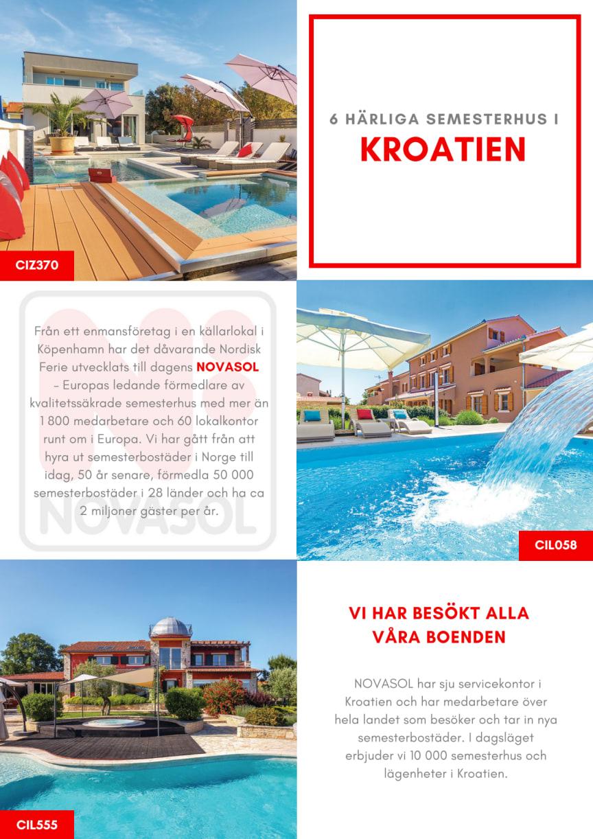 Produktinformation Kroatien