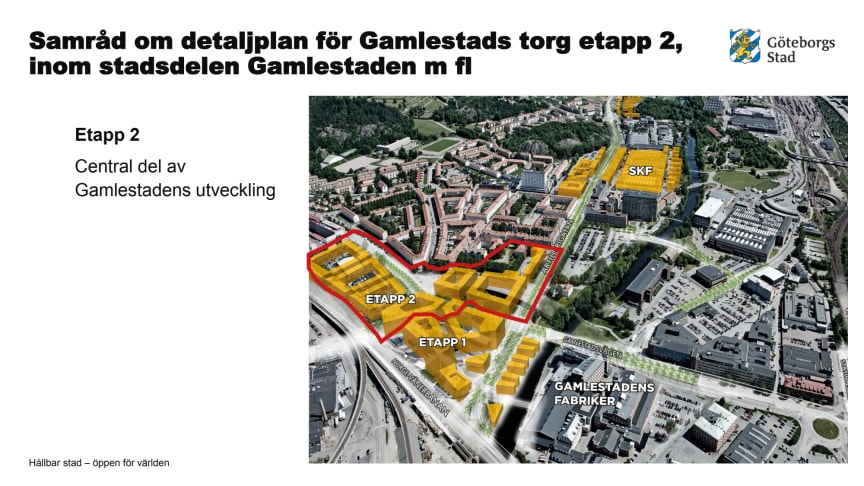 Presentation pressinfo Gamlestadens torg