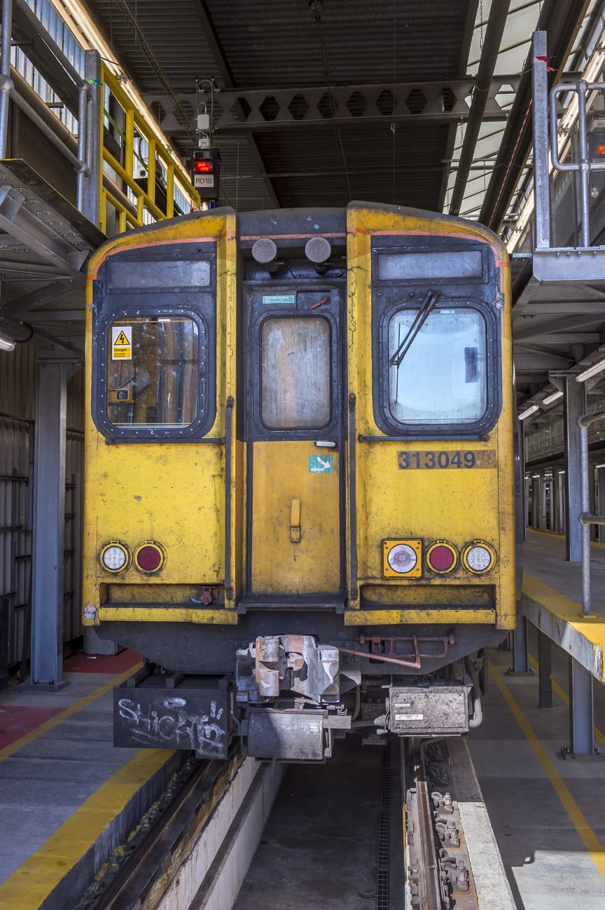 Old Moorgate train - front