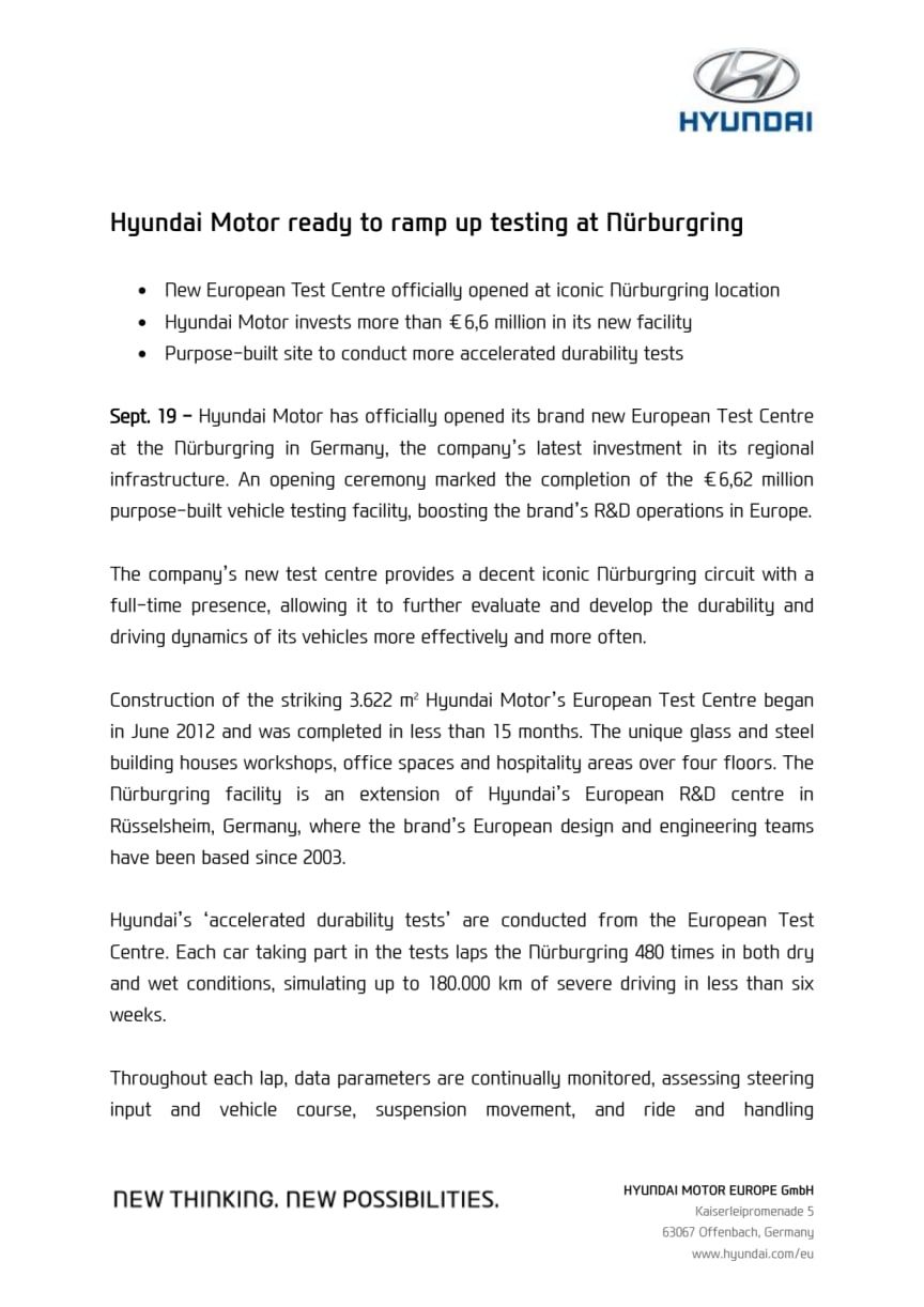 Hyundai med suksess i 24-timers race