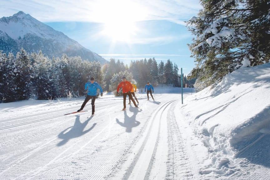 Langlaufen in Lenzerheide (Graubünden)