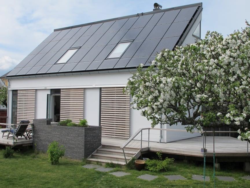 Skåne Solar Award 2014 till arkitekt Inger Thede