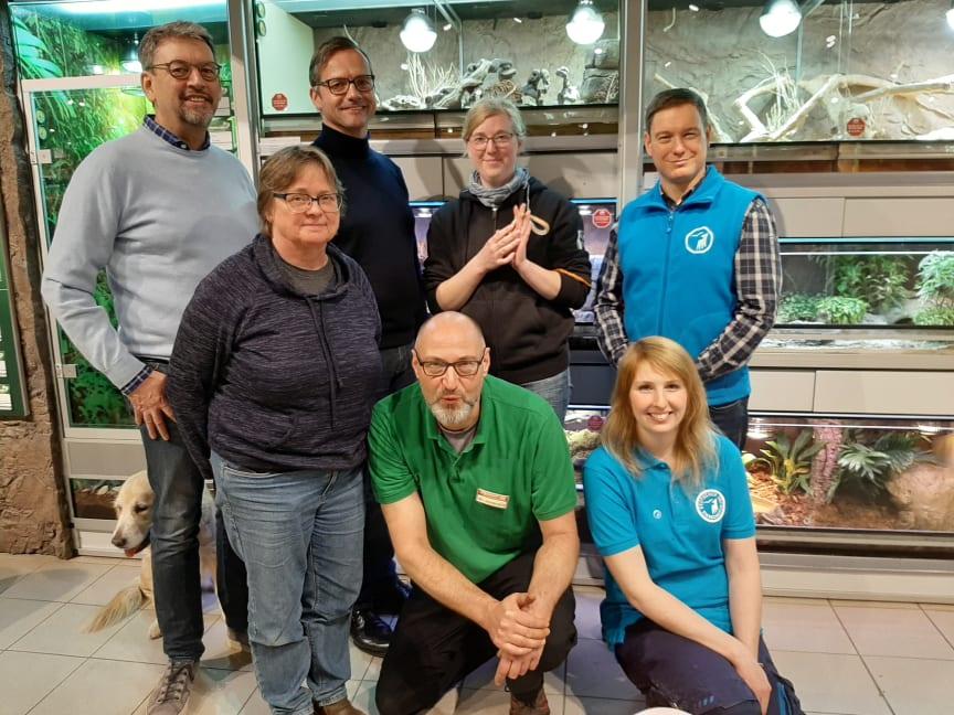 Eröffnung der Adoptierstube im Fressnapf-Markt Schwentinental