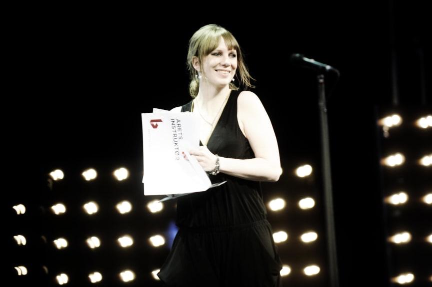 Reumert-modtager i kategorien Årets Instruktør 2013, Minna Johannesson