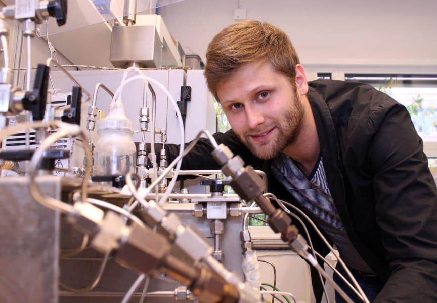 Danil Korelskiy, forskare inom Kemisk teknologi vid LTU