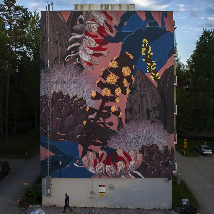 Pastel  'No east no west' for Karakallio Creative