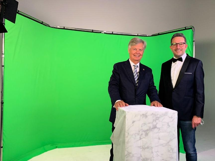 Felix Burda Award 2021: Dreh im Green Screen