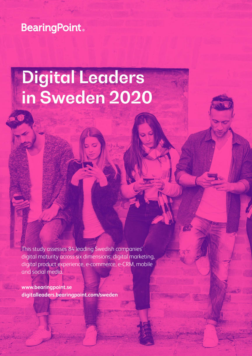 Framsida - Digital Leaders in Sweden 2020